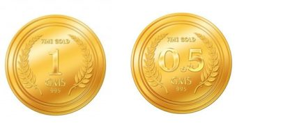 gold coins 1.5gm 995 by Euphoria Jewellery, an A.Himanshu alliance